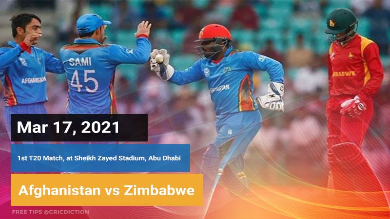 Afghanistan vs Zimbabwe