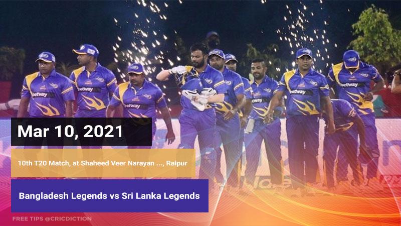 Bangladesh Legends vs Sri Lanka Legends