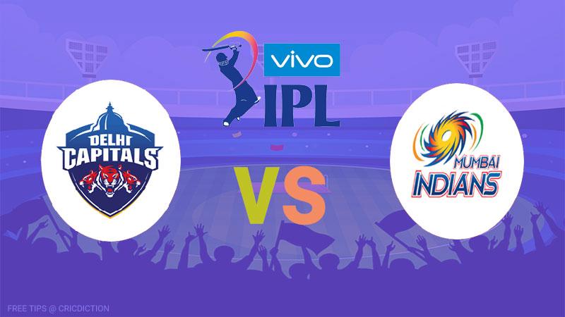 Delhi Capitals vs Mumbai Indians