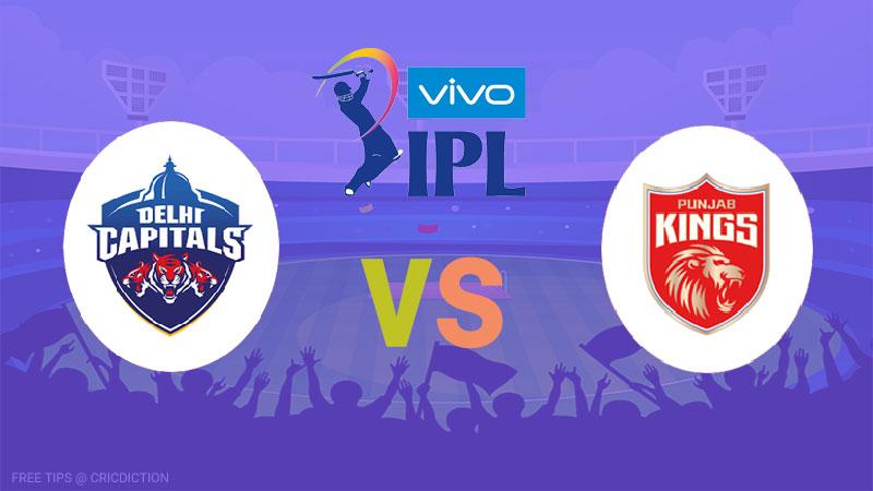 Delhi Capitals vs Punjab Kings