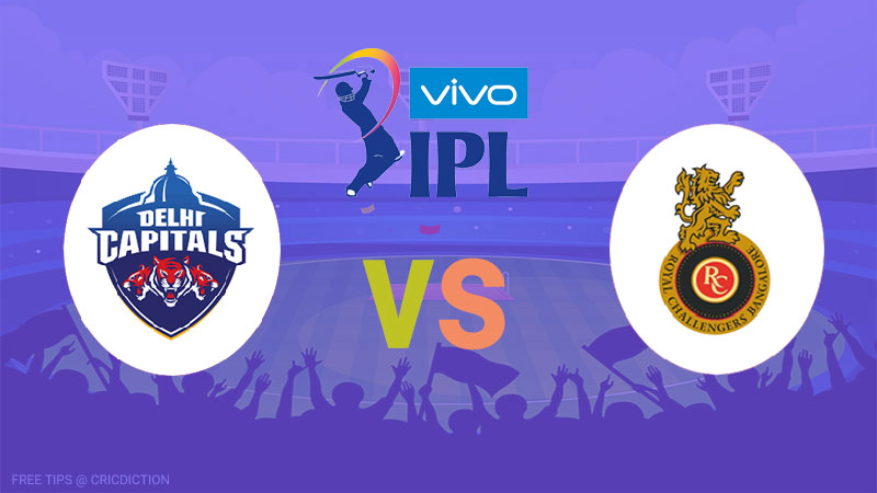 Delhi Capitals vs Royal Challengers Bangalore