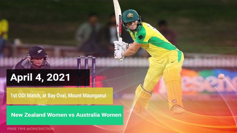 New Zealand Women vs Australia Women