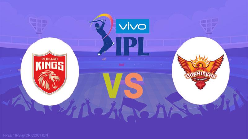 Punjab Kings vs Sunrisers Hyderabad