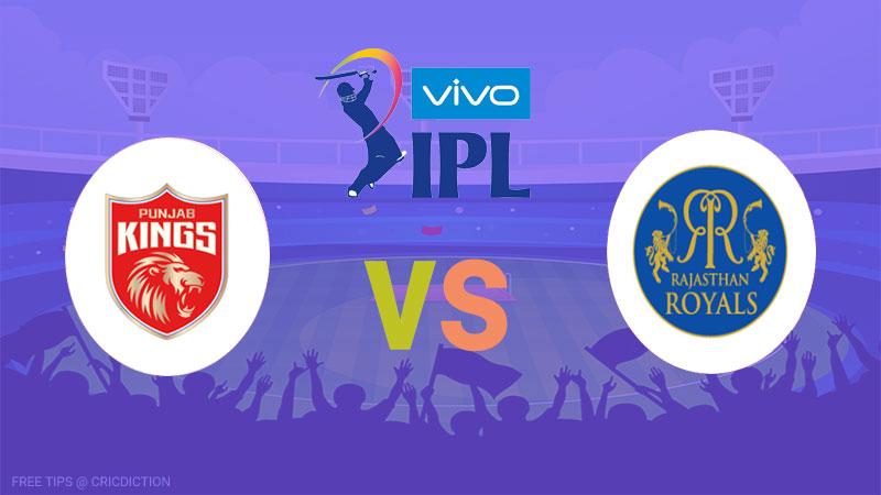 Rajasthan Royals vs Punjab Kings