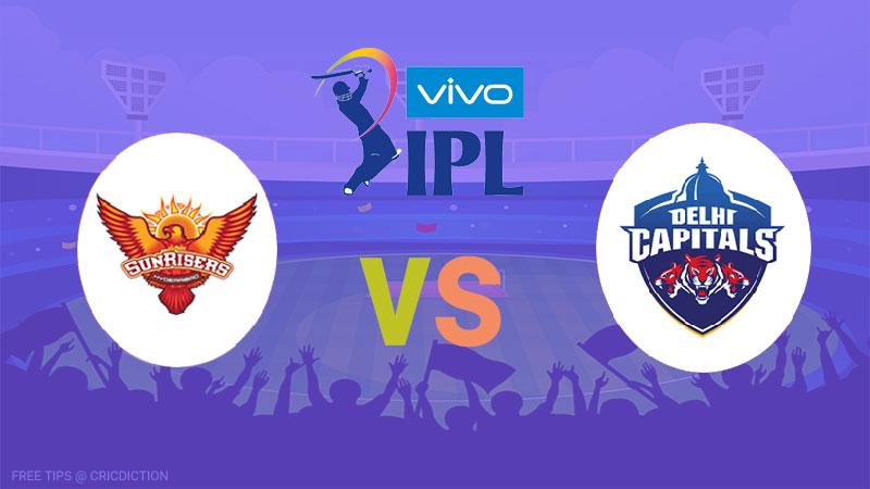 Sunrisers Hyderabad vs Delhi Capitals