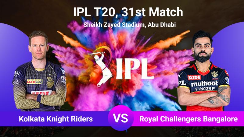 Kolkata Knight Riders vs Royal Challengers Bangalore