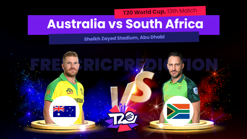 AUS vs SOU, 13th Match