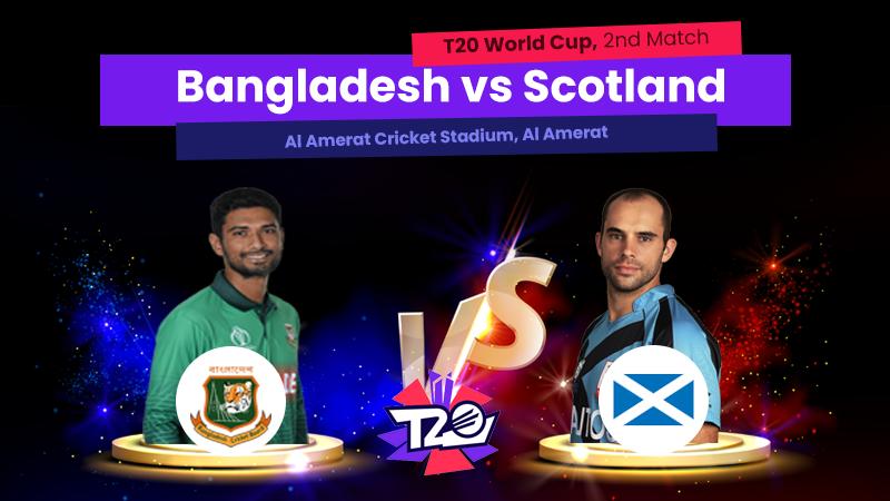 Bangladesh vs Scotland