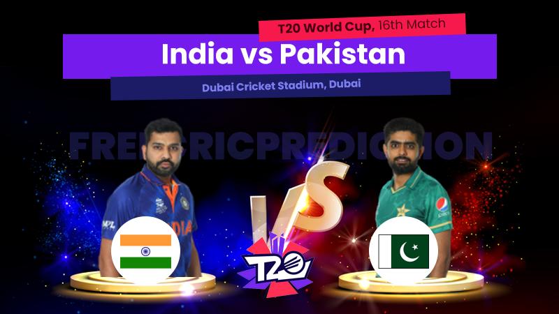 IND vs Pak, 16 Match