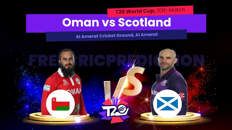 OMAN vs SCO, 10th Match