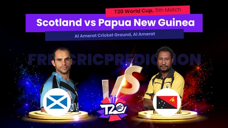 SCO vs PNG, 5th Match